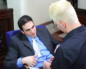 Office Topman Joey Banging His Twink Employee Austin Lucas